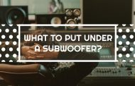 What To Put Under A Subwoofer?