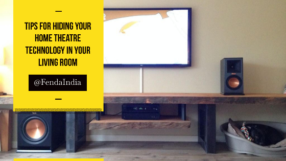 Tips for Hiding Your Home Theatre Technology in Your Living Room